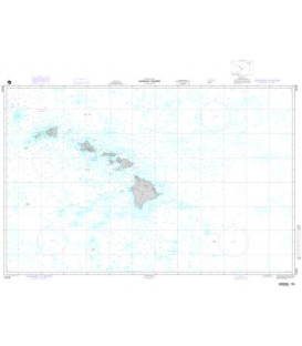 DM 19008 Hawaiian Islands (OMEGA-BATHYMETRIC CHART)