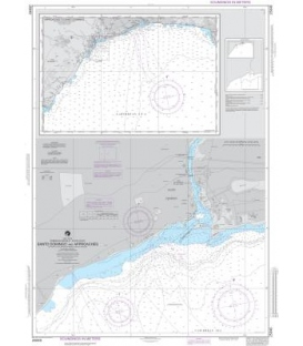 NGA Chart 25848 Dominican Republic-South Coast Plans: A. Puerto de Haina