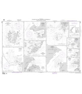 NGA Chart 29106 Plans on Antarctic Peninsula and Adjacent Islands A. Melchoir Islands