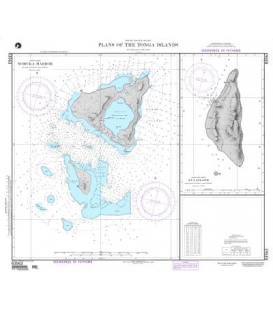 DM 83563 Plans of the Tonga Islands Nomuka Harbor