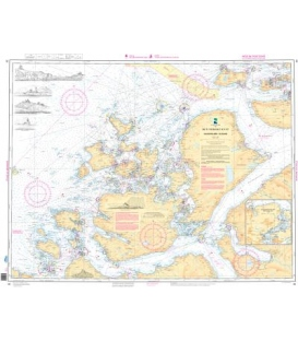 Norwegian Nautical Chart 30Haugsholmen - Ålesund