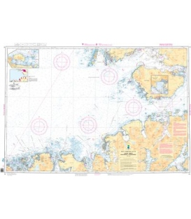 Norwegian Nautical Chart 75 Eggum - Gimsoy - Gaukv¾roya - Stokmarknes