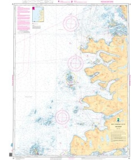 Norwegian Nautical Chart 82 Andfjorden