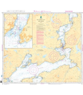Norwegian Nautical Chart 83 Dyroya - Gibostad