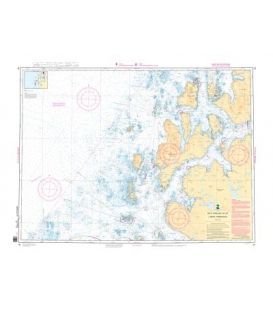 Norwegian Nautical Chart 88 Lyngoya - Nordkvaloya