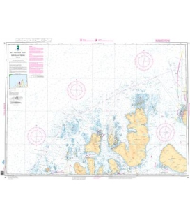 Norwegian Nautical Chart 89 Sorfugloya - Torsvag