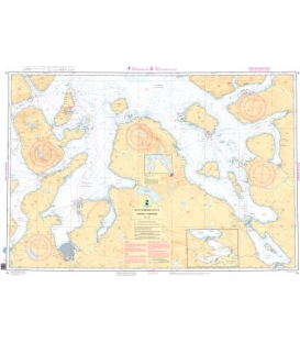 Norwegian Nautical Chart 94 Skjervoy - Kv¾nangen