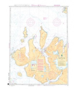 Norwegian Nautical Chart 95 Brynilen - Loppa - Soroya