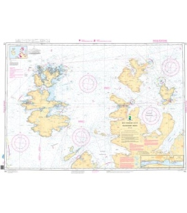 Norwegian Nautical Chart 102 Rolvsoysundet - Masoya