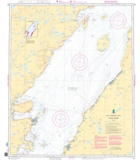 Norwegian Nautical Chart 105 Porsangen. Repvag - Kistrand
