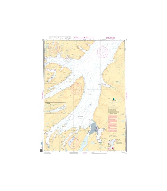 Norwegian Nautical Chart 110 Tanafjorden