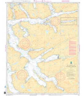 Norwegian Nautical Chart 129 Halsafjorden - Surnadalsøra