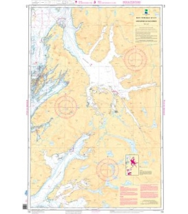 Norwegian Nautical Chart 134 Ursfjorden og Velfjorden