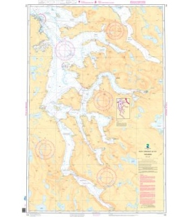 Norwegian Nautical Chart 140 Tysfjorden