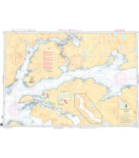 Norwegian Nautical Chart 141 Ofotfjorden