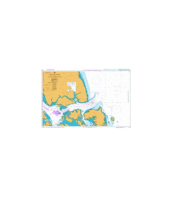 Admiralty Instructional Chart Singapore Strait and Eastern Approaches