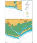 British Admiralty Nautical Chart 83 Ports on the South Coasts of Portugal