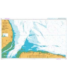 British Admiralty Nautical Chart 108 Approaches to The Wash