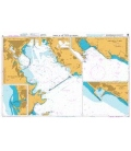 British Admiralty Nautical Chart 118 Ports in the Gulf of Genoa