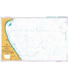 British Admiralty Nautical Chart 121 Flamborough Head to Withernsea