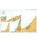British Admiralty Nautical Chart 178 Ports in Algeria