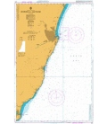British Admiralty Nautical Chart 210 Newburgh to Montrose