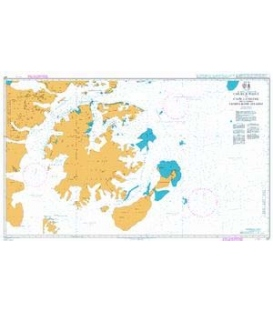 British Admiralty Nautical Chart 227 Church Point to Cape Longing including James Ross Island