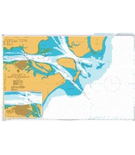 British Admiralty Nautical Chart 231 Approaches to Porto de Paranagua