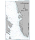 British Admiralty Nautical Chart 235 Davis Strait and South East Part of Baffin Bay