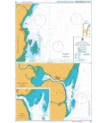 British Admiralty Nautical Chart 238 Ports in Kenya Kilifi and Malindi