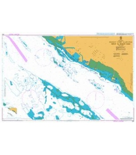 British Admiralty Nautical Chart 328 Madinat Yanbu` as Sina`iyah - Mina' al Malik Fahd