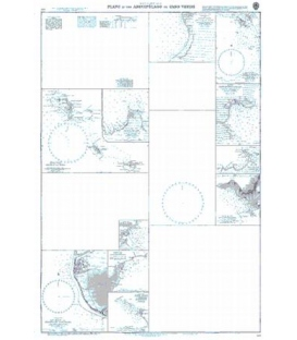 British Admiralty Nautical Chart 369 West Indies, Northern Martinique