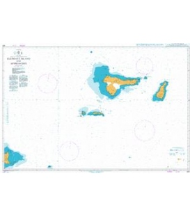 British Admiralty Nautical Chart 449 Elephant Island and Approaches