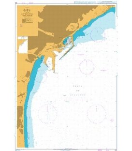 British Admiralty Nautical Chart 469 Alicante