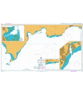 British Admiralty Nautical Chart 471 Cabo Caucedo to Isla Alto Velo