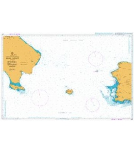 British Admiralty Nautical Chart 472 Mona Passage
