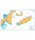 British Admiralty Nautical Chart 477 Tobago and Approaches