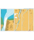 British Admiralty Nautical Chart 519 Georgetown