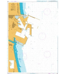 British Admiralty Nautical Chart 562 Valencia