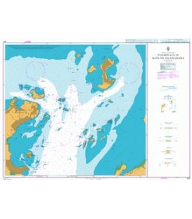 British Admiralty Nautical Chart 564 Terminals in Baia de Guanabara