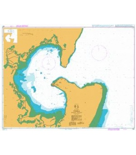 British Admiralty Nautical Chart 647 Pemba (Porto Amelia)