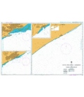 British Admiralty Nautical Chart 671 Outer Approaches to Muqdisho and Marka Anchorage