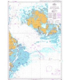 British Admiralty Nautical Chart 689 Entrance to the Gulf of Bothnia