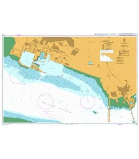 British Admiralty Nautical Chart 728 Rosyth