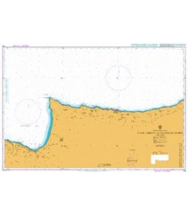 British Admiralty Nautical Chart 776 Cape Limniti to Stazousa Point