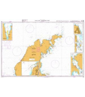 British Admiralty Nautical Chart 798 Gotland - Northern Part