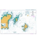 British Admiralty Nautical Chart 808 East Guernsey, Herm and Sark