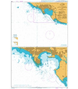 British Admiralty Nautical Chart 819 Galle Harbour and Approaches