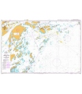 British Admiralty Nautical Chart 832 Approaches to Sandhamn