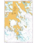 British Admiralty Nautical Chart 844 Lillhammarsgrund to Bokosund